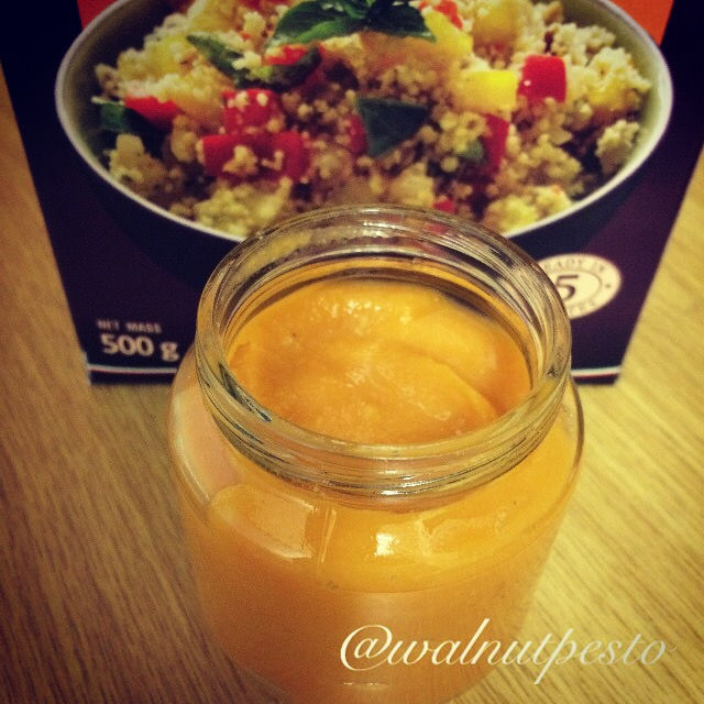 Sweet Potato and Pear Couscous