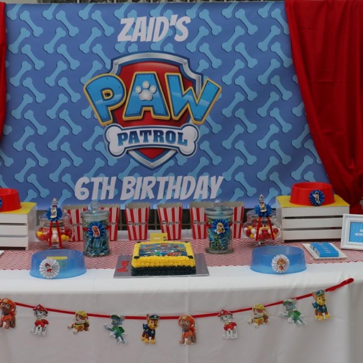 Paw Patrol Party Ideas