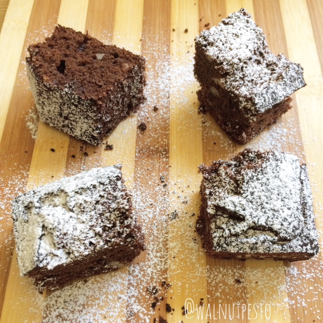 Pecan Hummus Chocolate Brownies