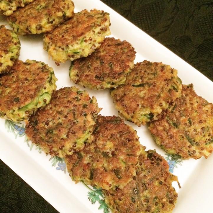 Veggie Quinoa Fritters