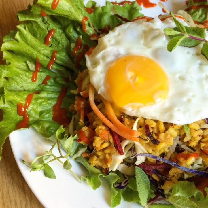 Moong Dhal Breakfast Salad