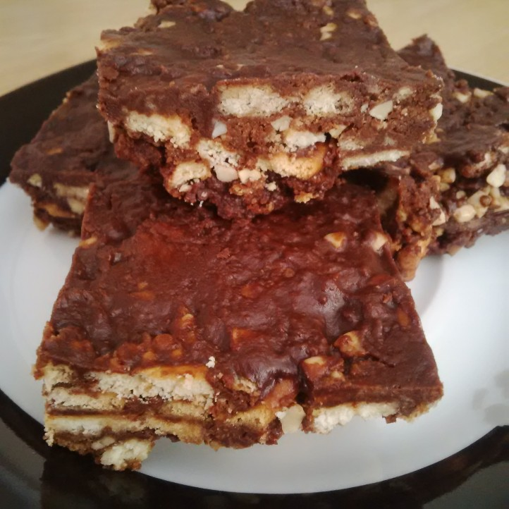 Nutty Crunch Squares