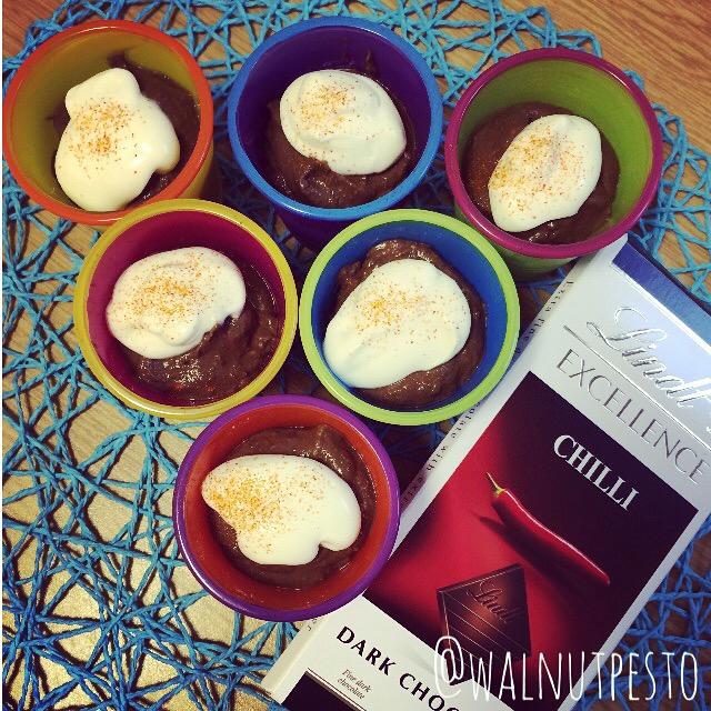 Avocado Chilli Chocolate Mousse