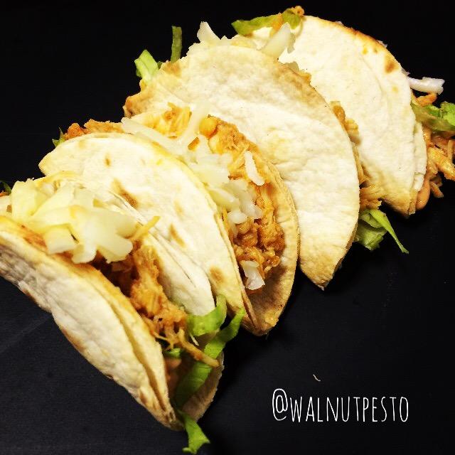 Mini Chicken Crispy Tortillas