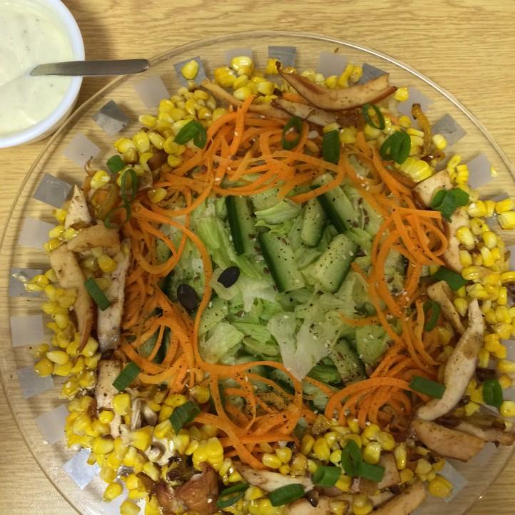 Cajun Chicken and Corn Salad