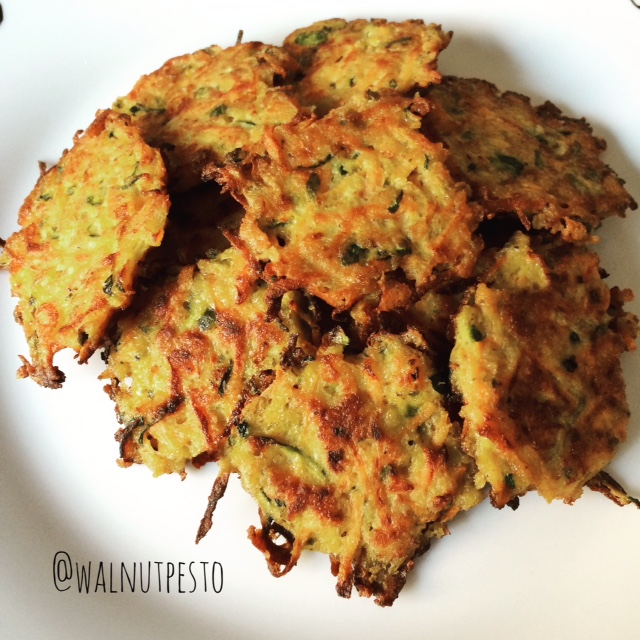 Zucchini and Carrot Fritters