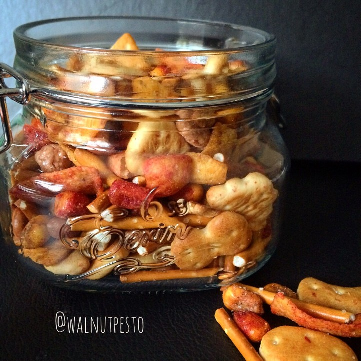 Spicy Barbecue Corn Snack Mix