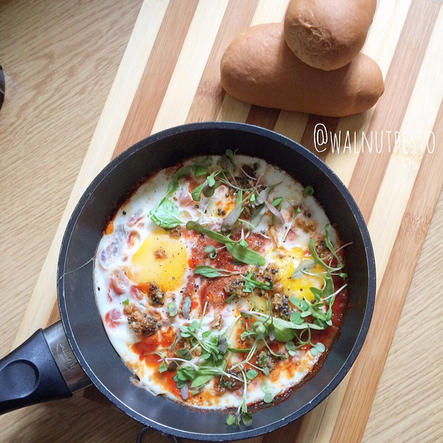 Indian style One Pan Eggs